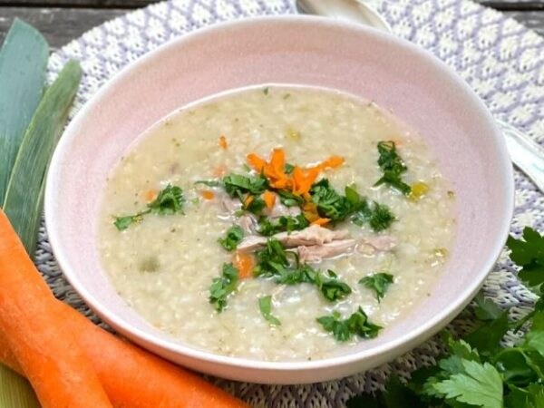 Reiscongee mit Frühlingsgemüse - Reiscongee - TCM Ernährung - Ernährungsumstellung - 5 Elemente - TCM Ernährungsexpertin - Anna Reschreiter - annatsu