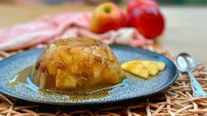 Rezept Wackelpudding mit Apfel und Zimt - Wackelpudding - TCM Ernährung - 5 Elemente - Anna Reschreiter - annatsu