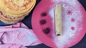 Rezept süße Palatschinken mit Marmelade aus der TCM - Palatschinken - TCM Ernährung - 5 Elemente - Anna Reschreiter - annatsu