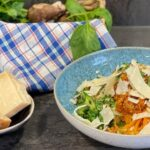 Rezept Zucchini Spaghetti mit Gemüsesugo - Spaghetti - Gemüsesauce - TCM Ernährung - 5 Elemente - Anna Reschreiter - annatsu
