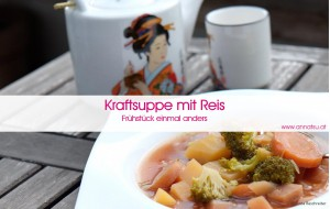 3 Wochen Durchstarter Kurs - TCM Ernährung geht ganz EINFACH - Rezept Kraftsuppe - TCM Ernährungsberatung - Shiatsu - Anna Reschreiter