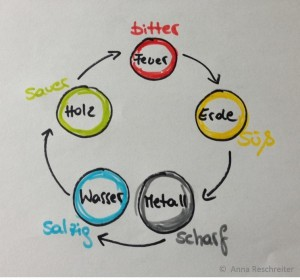 3 Wochen Durchstarter Kurs - TCM Ernährung geht ganz EINFACH – 5 Elemente Kreislauf - TCM Ernährungsberatung - Shiatsu - Anna Reschreiter