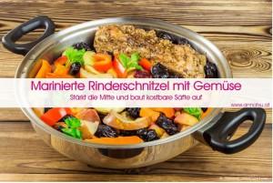 3 Wochen TCM Durchstarter Kurs - TCM Ernährung geht ganz EINFACH – Rezept Marinierte Rindschnitzel - TCM Ernährungsberatung - Shiatsu - Anna Reschreiter