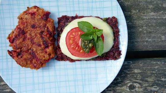 Rezept - Hirse-Laibchen mit Roten Rüben - TCM Ernährung - 5 Elemente Küche - TCM Ernährungsberatung Wien - Anna Reschreiter