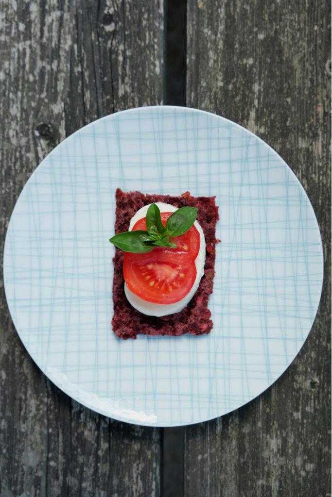 Rezept - Rote Rüben Pizza - TCM Ernährung - 5 Elemente Küche - TCM Ernährungsberatung Wien - Anna Reschreiter
