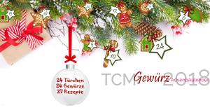 TCM Gewürz Adventskalender 2018 Startseite - TCM Ernährung - 5 Elemente Küche - TCM Ernährungsberatung Wien - Anna Reschreiter - fb WA