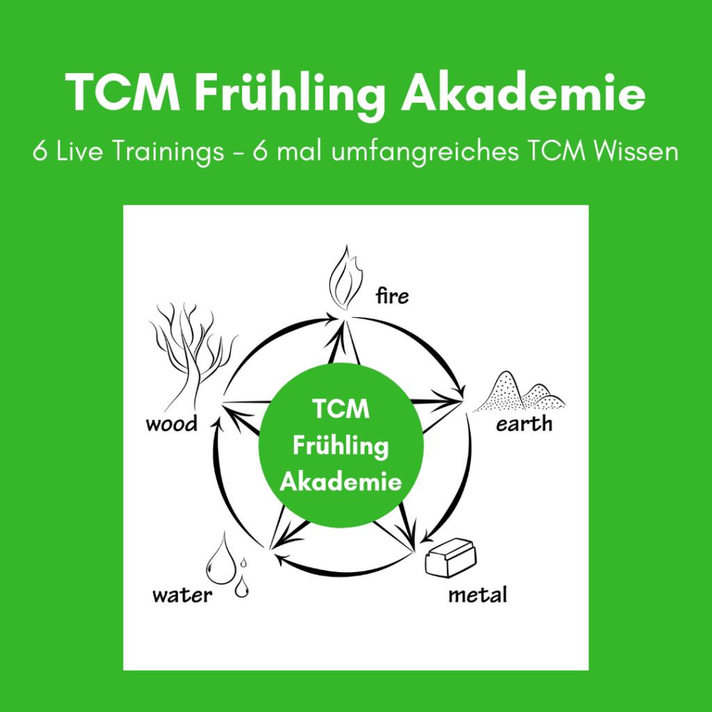 TCM Frühling Akademie - TCM Ernährung - Ernährungsumstellung - 5 Elemente - Traditionell Chinesische Medizin - Fünf Elemente - annatsu