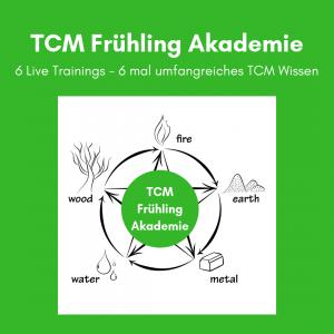 TCM Frühlings Akademie - TCM Akademie - TCM Ernährung - TCM Kurs - TCM Onlinekurs - Holz Element - Frühlingsenergie - 5 Elemente - Ernährungsumstellung - Gallenblase - Leber - Anna. Reschreiter - annatsu
