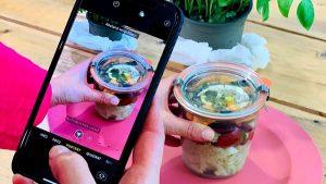 Rezept Schichtsalat nach der TCM - warmer Salat - TCM Ernährung - 5 Elemente - Anna Reschreiter - annatsu