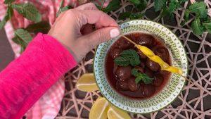 Rezept Kirschsuppe nach der TCM - Kirschen - Suppe - TCM Ernährung - 5 Elemente - Anna Reschreiter - annatsu