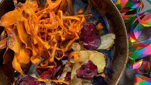 Rezept Silvester-Chips nach der TCM - Gemüse - Chips - TCM Ernährung - 5 Elemente - Anna Reschreiter - annatsu