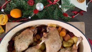 Rezept Weihnachtliche Entenkeulen aus dem Bräter nach der TCM - Hauptspeise Weihnachten - TCM Ernährung - 5 Elemente - Anna Reschreiter - annatsu