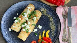 Rezept Pikant gefüllte Fleischpalatschinken nach der TCM - Palatschinken - TCM Ernährung - 5 Elemente - Anna Reschreiter - annatsu