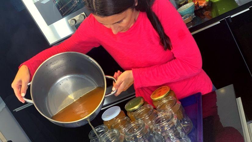 Rezept Suppe einrexen - Haltbarmachen - Kraftsuppe - TCM Ernährung - 5 Elemente - Anna Reschreiter - annatsu