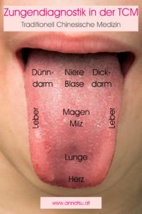 Zungendiagnostik in der TCM - Was deine Zunge über dich sagt - Zungenbelag aus Sicht der TCM - Traditionelle Chinesische Medizin - Grundlagen TCM - Basics TCM - 5 Elemente - Fünf Elemente - TCM Ernährung - Ernährungsumstellung - Anna Reschreiter - annatsu